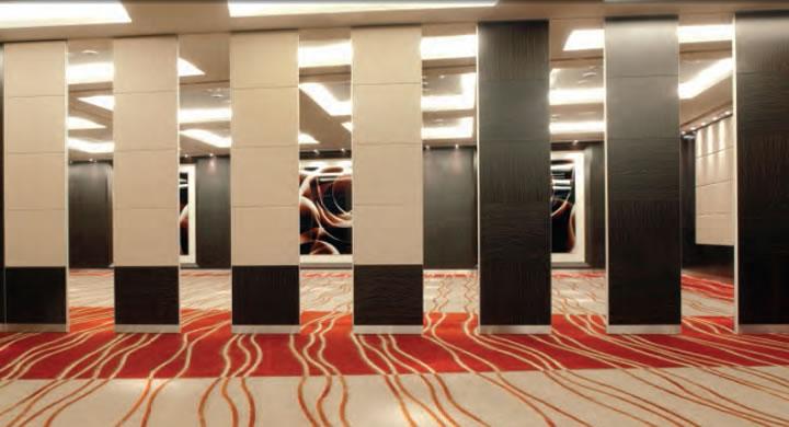 Folding Flexible Wall System