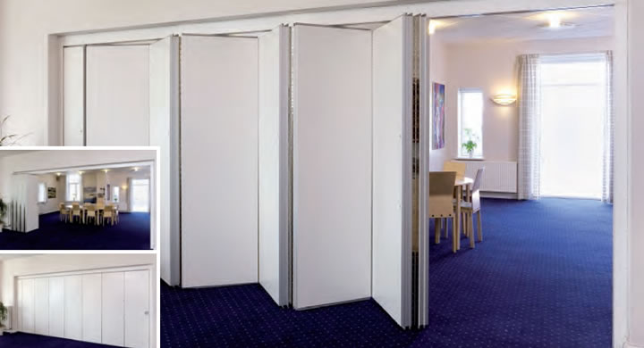 Folding Wall Systems For School Partitions