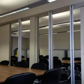 Top Hung Movable Wall System – Oxford University Hayes House