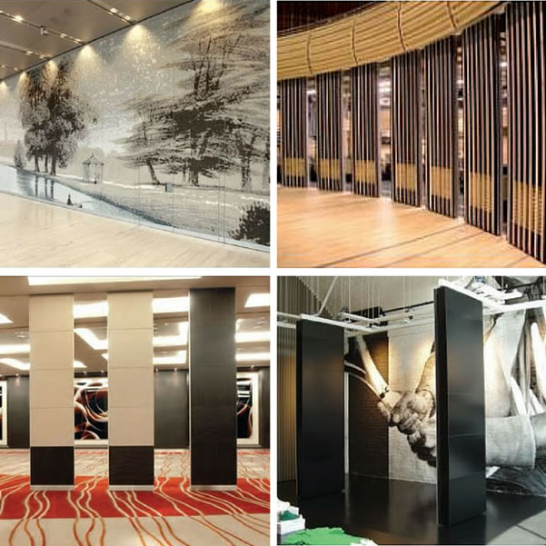 Folding walls and partition systems
