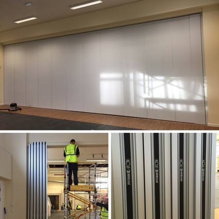 Movable Wall Laminate Finish for Primary School In Essex.