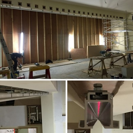 Tracking For Movable Wall Installation, Essex.