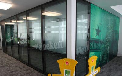 Movable Walls Servicing At Heineken