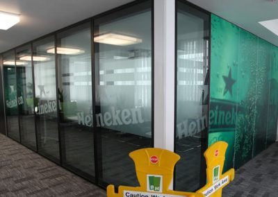 Movable Walls Servicing At Heineken